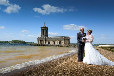 Stunning backdrop for a wedding